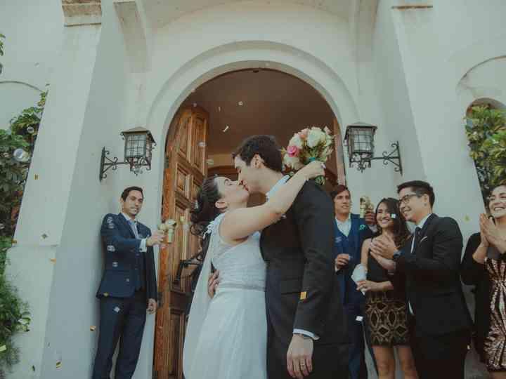 El matrimonio de Alejandra y Fabrizio