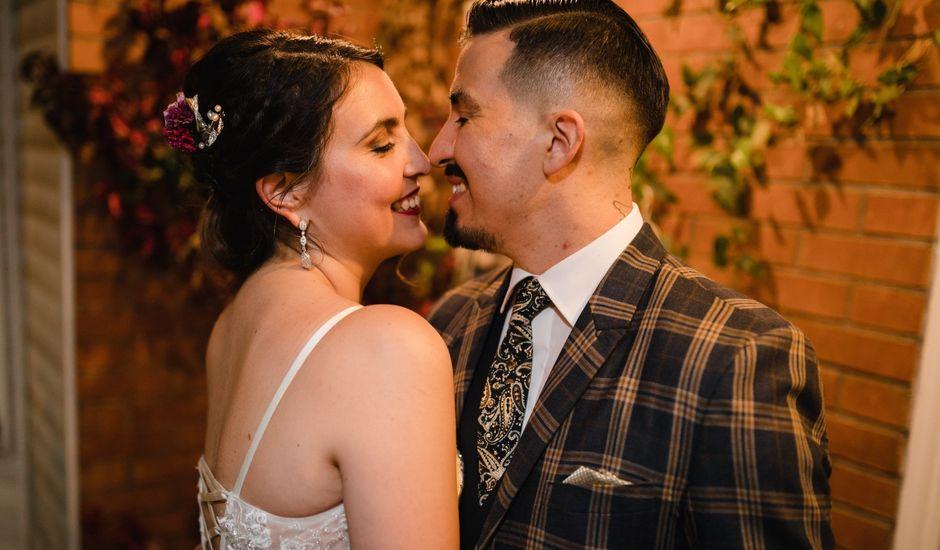 El matrimonio de Rodrigo y Paulina en La Florida, Santiago