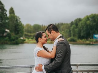 El matrimonio de Tavita y Patricio
