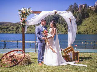 El matrimonio de Karen y Fernado