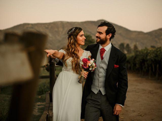 El matrimonio de María ignacia y Matias