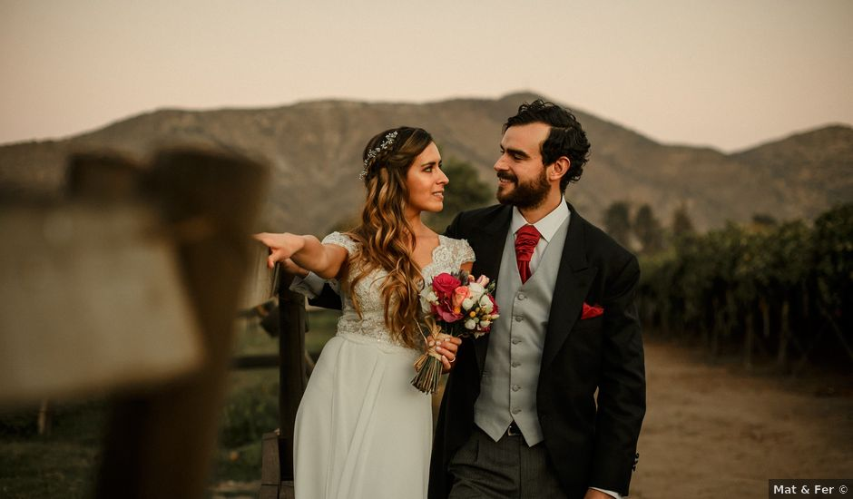 El matrimonio de Matias y María ignacia en Santiago, Santiago