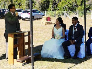 El matrimonio de Macarena y Víctor