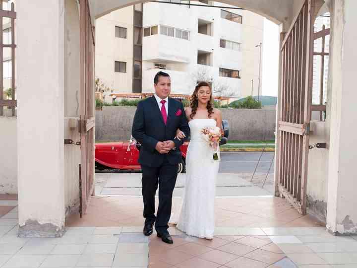 El matrimonio de Carolina y Dante