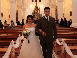 El matrimonio de Katty y Adolfo