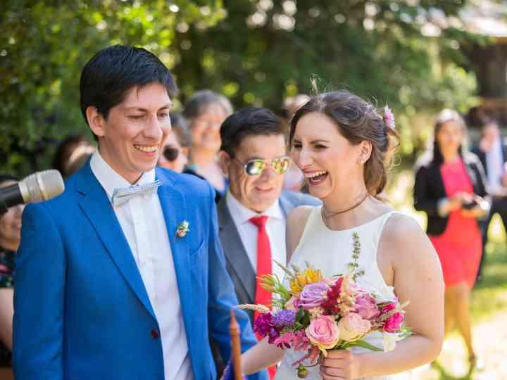 El matrimonio de Christian y Vannesa
