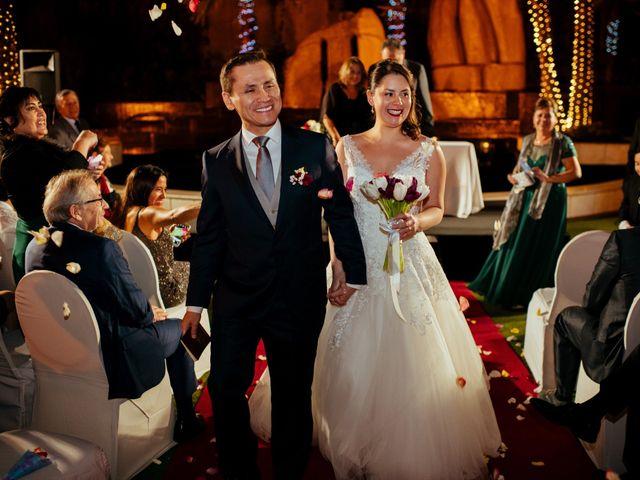 El matrimonio de Paulina  y Rubén