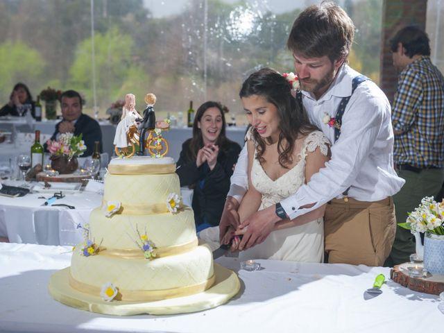 El matrimonio de Catalina y Nicolás