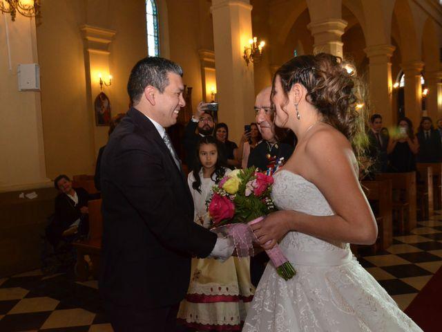 El matrimonio de Yanira y Luis en Pirque, Cordillera 1