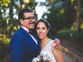 El matrimonio de Daniela y Rodrigo