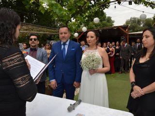 El matrimonio de Juan Carlos y Andrea 2