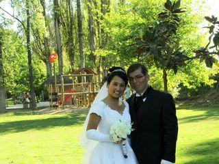 El matrimonio de Lorena y Rodrigo