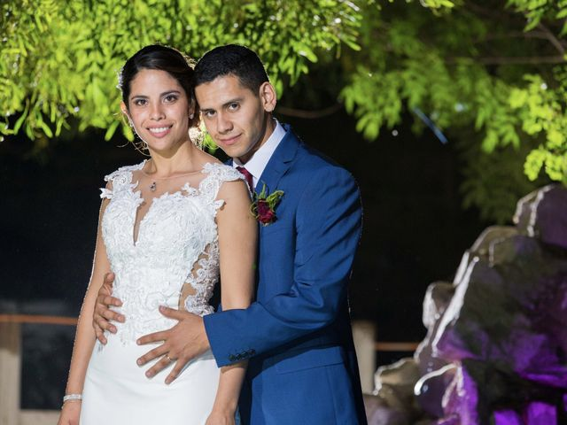 El matrimonio de Tania y Jorge