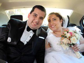 El matrimonio de María Teresa y Diego