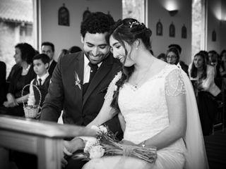 El matrimonio de Cristian y Daniela