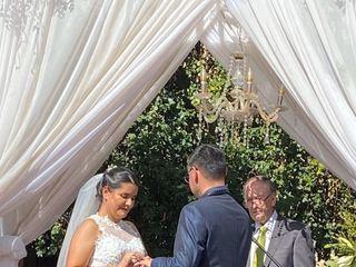 El matrimonio de Marianela  y Sergio 2