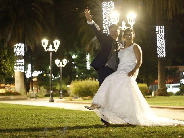 El matrimonio de Solange y Ramon