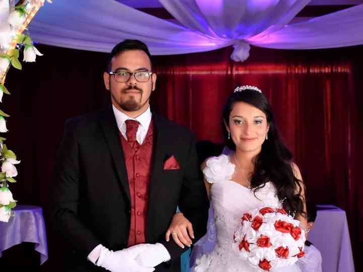 El matrimonio de Grace  y Cristian