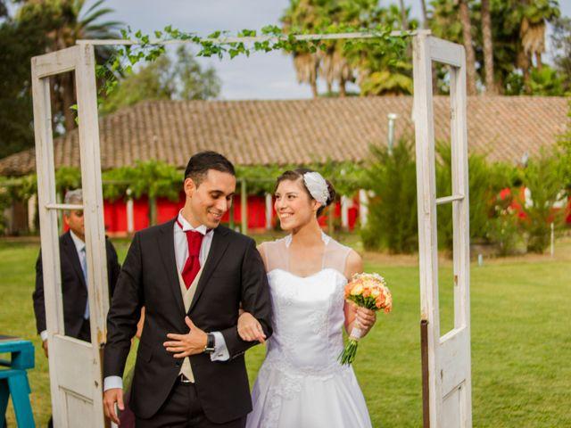 El matrimonio de Karen y Rodrigo