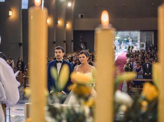El matrimonio de Nicole y  Román 1