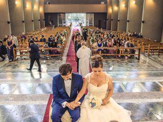 El matrimonio de Nicole y  Román 3