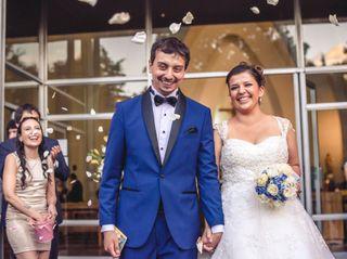 El matrimonio de Nicole y  Román