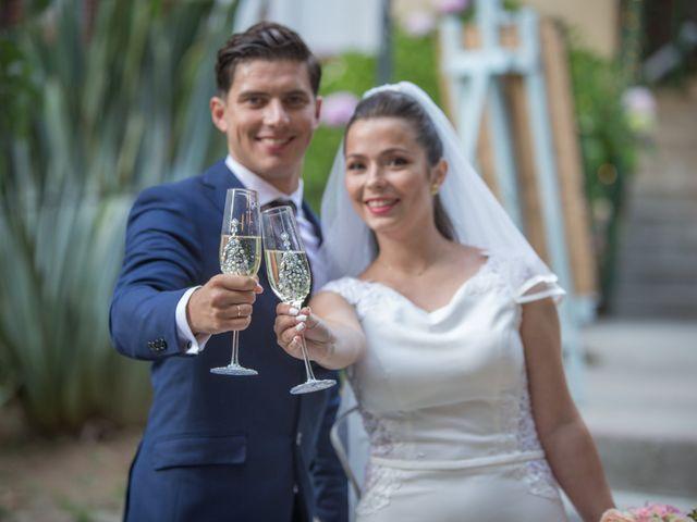 El matrimonio de Gennesis y Lucca