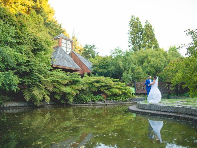 El matrimonio de Coté y Memo