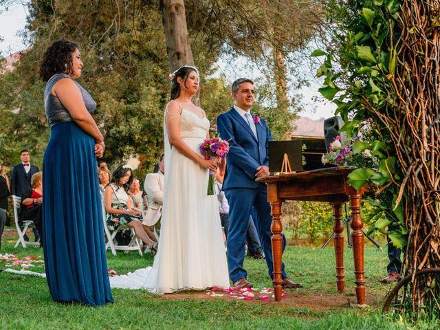 El matrimonio de Rodrigo y Maricela en La Reina, Santiago 49