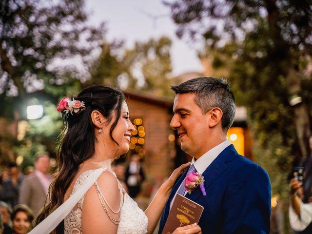 El matrimonio de Rodrigo y Maricela en La Reina, Santiago 52