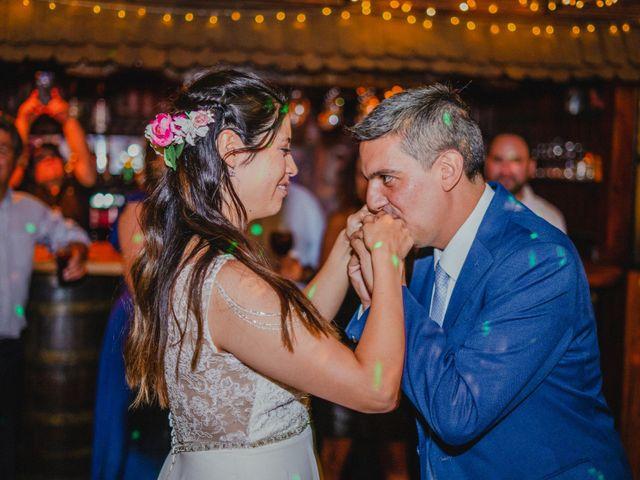 El matrimonio de Rodrigo y Maricela en La Reina, Santiago 86