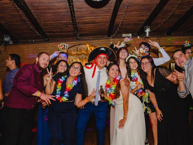 El matrimonio de Rodrigo y Maricela en La Reina, Santiago 125