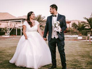 El matrimonio de Makarena y Daniel