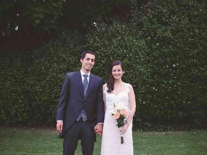 El matrimonio de María José y Vicente