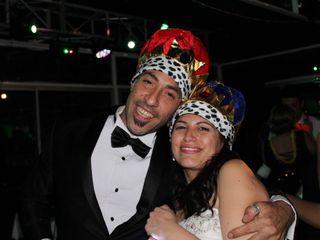 El matrimonio de Anita y Sergio