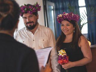 El matrimonio de Andrea y Juan Carlos 1