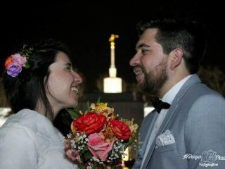 El matrimonio de Masiel y Óscar