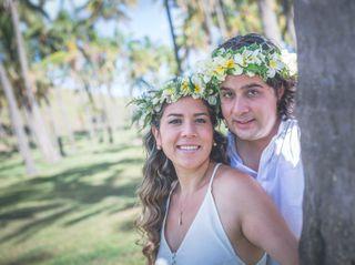 El matrimonio de Izzy y Rodrigo