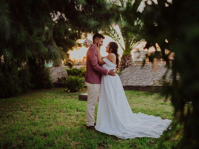 El matrimonio de Bárbara y Manuel