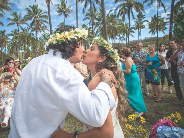 El matrimonio de Rodrigo y Izzy en Isla de Pascua, Isla de Pascua 2