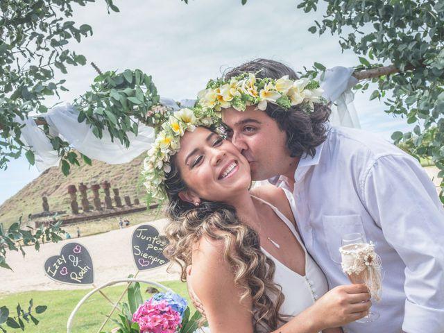 El matrimonio de Rodrigo y Izzy en Isla de Pascua, Isla de Pascua 6