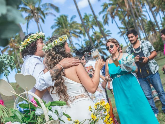 El matrimonio de Rodrigo y Izzy en Isla de Pascua, Isla de Pascua 7