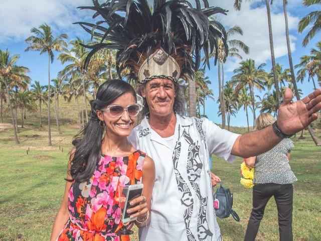 El matrimonio de Rodrigo y Izzy en Isla de Pascua, Isla de Pascua 10