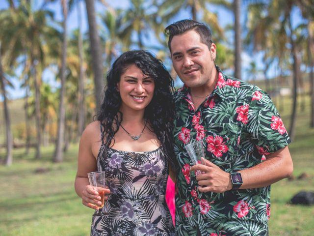 El matrimonio de Rodrigo y Izzy en Isla de Pascua, Isla de Pascua 12