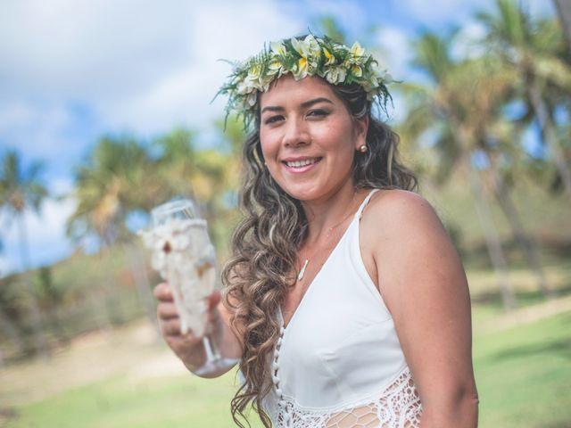 El matrimonio de Rodrigo y Izzy en Isla de Pascua, Isla de Pascua 15