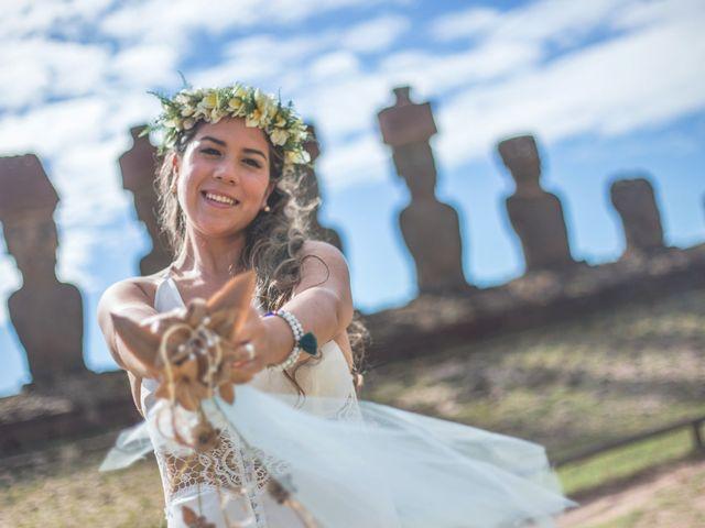 El matrimonio de Rodrigo y Izzy en Isla de Pascua, Isla de Pascua 17