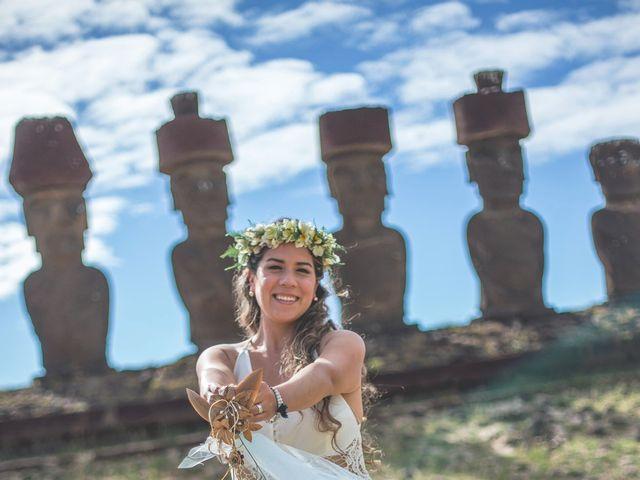 El matrimonio de Rodrigo y Izzy en Isla de Pascua, Isla de Pascua 18