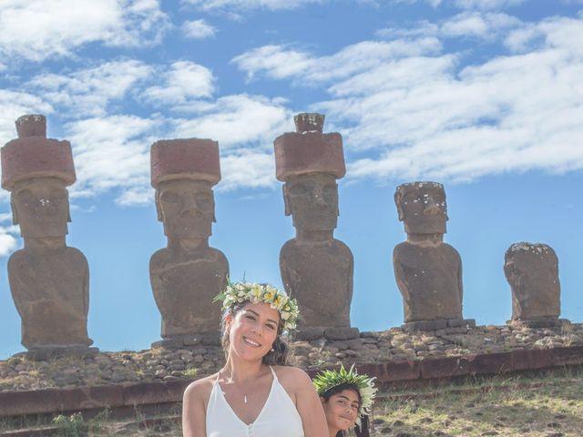 El matrimonio de Rodrigo y Izzy en Isla de Pascua, Isla de Pascua 20