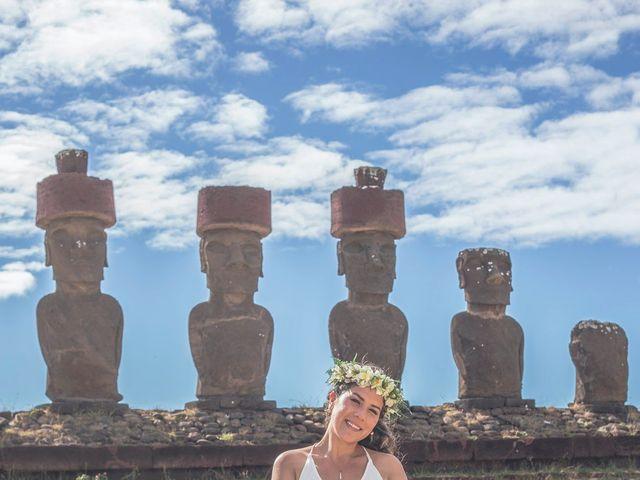 El matrimonio de Rodrigo y Izzy en Isla de Pascua, Isla de Pascua 21