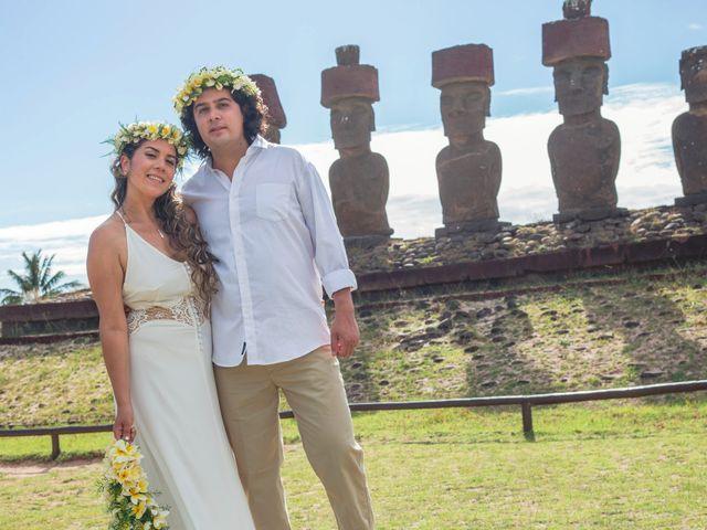 El matrimonio de Rodrigo y Izzy en Isla de Pascua, Isla de Pascua 22